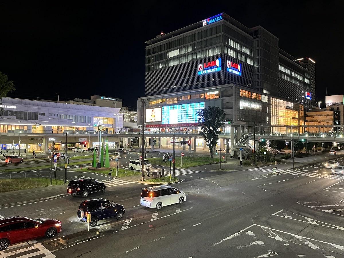 iPhone 13 Proのカメラで撮った夜景