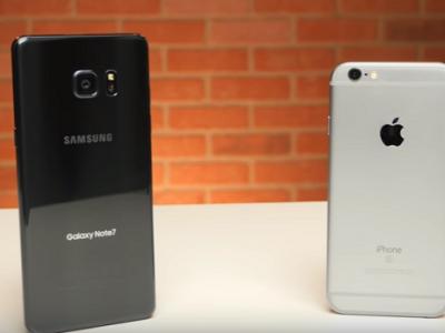 「Galaxy Note 7」と「iPhone 6s」のスピードテスト対決は「iPhone 6s」の圧勝!?