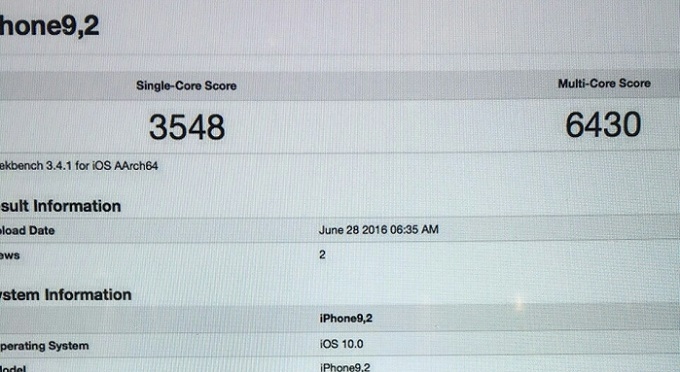 iPhone 7 Plusのベンチマークテストの結果がリーク!性能はiPhone6sの1.4倍!