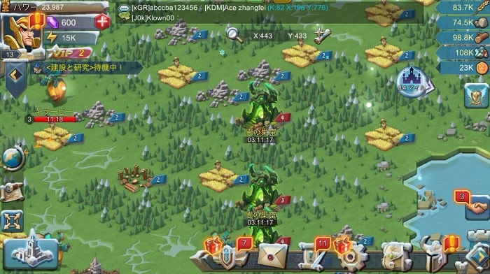 戦争RTS「ロードモバイル」の評価と感想をレビュー!