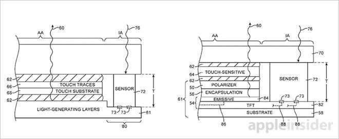 iPhone 8には枠やフチがなくなる?!Appleが光センサーの特許を取得