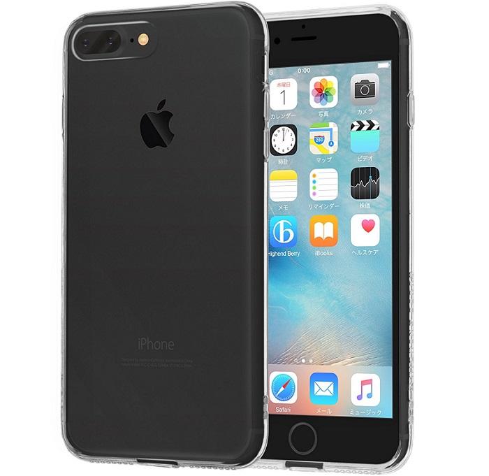 iPhone7 Plus用シンプルクリアケース「Highend berry ハイブリットクリアケース」をレビュー!