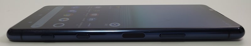 Xperia 5 II の側面デザイン