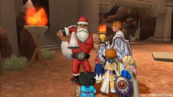 【ドラクエ10】クリスマスイベント「星降る夜の大乱闘!聖夜の反逆者」をクリアしてきたよ!