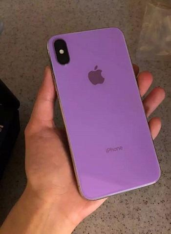 ついに2018年iPhoneの背面パネルがリーク!新色はパープルとグリーン!?