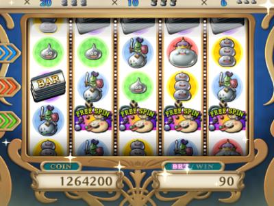 【ドラクエ10】カジノ2Fスロット攻略② 修正後の2Fスロットで9万コイン勝ってきたよ!