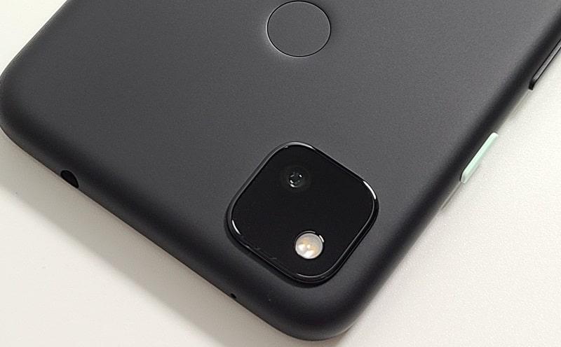 Google Pixel 4aのカメラの様子