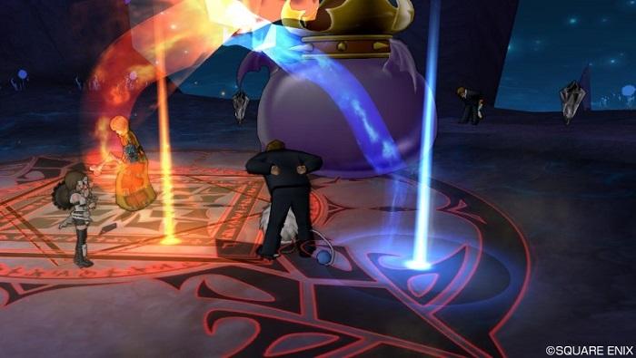 「ダークキング」戦のスーパースターの戦闘中の立ち回り