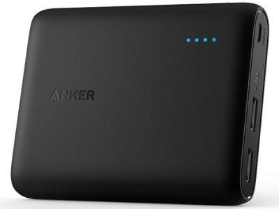 日本で1番売れている!?人気モバイルバッテリー「Anker PowerCore 10000」を評価!スペックや評判をレビュー!