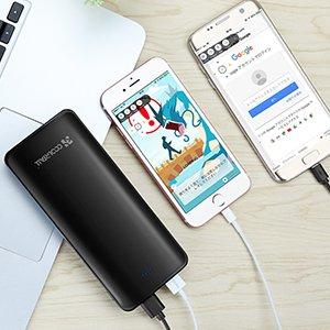 大容量モバイルバッテリー「Coolreall 15600mAh」を評価!スペックや評判をレビュー!