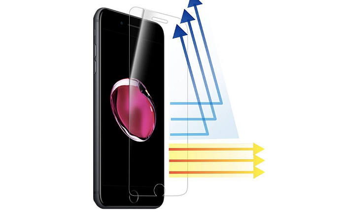 iPhone7 Plus用ガラスフィルム「DOLPHIN47 ブルーライトカット液晶保護フィルム」をレビュー!