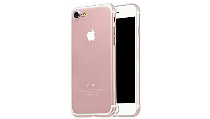 ピッタリフィットする「HOCO」のiPhone7用シンプルクリアケースをレビュー!