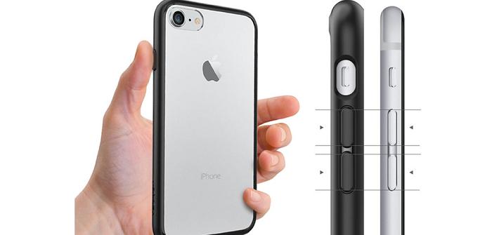 「Spigen」のiPhone7用シンプルクリアケースをレビュー!