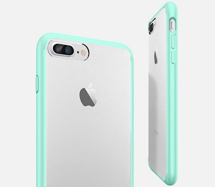 iPhone7 Plus用シンプルクリアケース「Spigen ウルトラハイブリッド」をレビュー!
