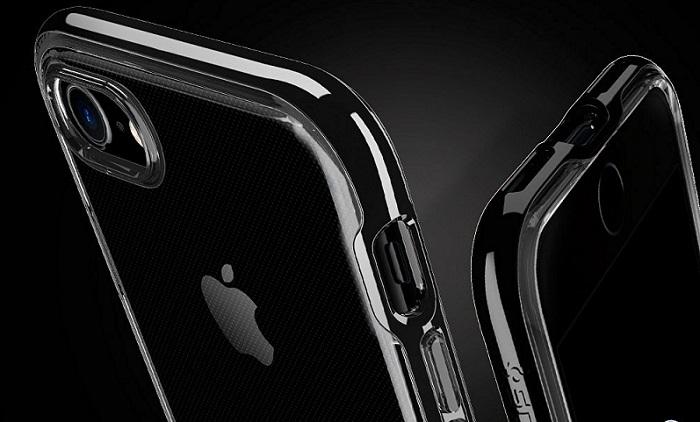 iPhone7用シンプルクリアケース「Spigen iPhone7 ケース ネオハイブリッドクリスタル」をレビュー!