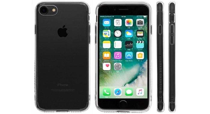 Highend berry iPhone7 ハイブリットクリアケース