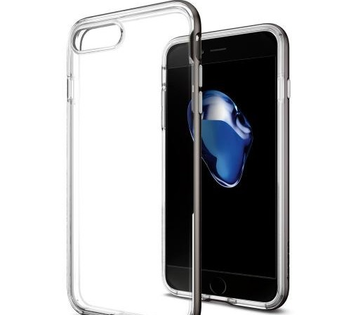 iPhone7 Plus用シンプルクリアケース「Spigen ネオハイブリッドクリスタル」をレビュー!