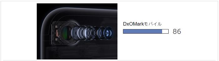 iPhone7 カメラ性能でGalaxy S7 edgeに一歩及ばず