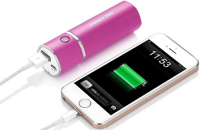 かわいいコンパクトサイズのモバイルバッテリーPoweradd「Slim2」をレビュー!