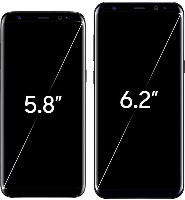 Galaxy S8/Galaxy S8+のカラーバリエーションとスペック