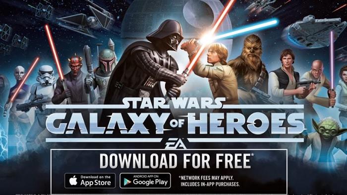 スター・ウォーズの世界が味わえるRPGゲームアプリ「スター・ウォーズ/銀河の英雄」を実際にプレイした評価と感想
