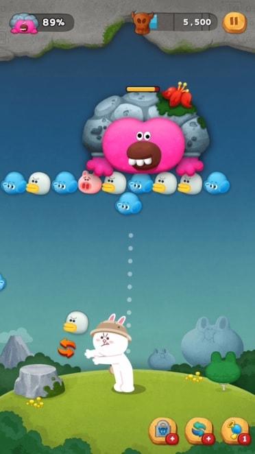バブル系パズルゲームアプリ「LINE バブル2」を実際にプレイした評価と感想