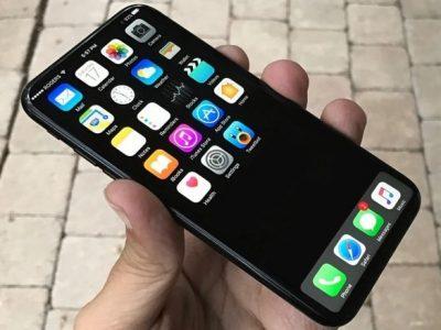 iPhone 8は5.8インチ型の全面ディスプレイになる?!