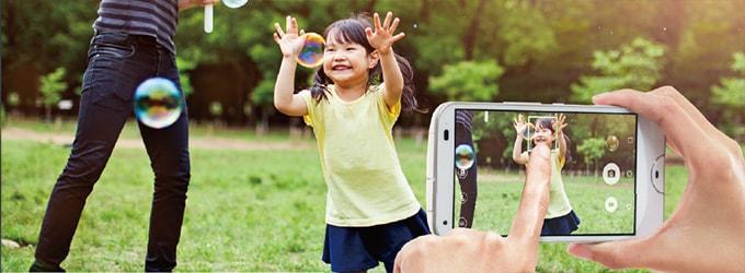 UQ mobile「DIGNO W」のカメラ性能