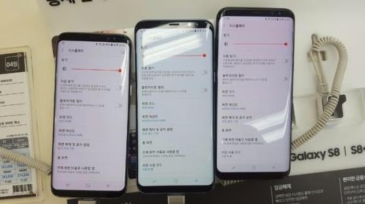 Galaxy S8のディスプレイが赤くなる不具合報告が海外で頻発している?!