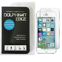 DOLPHIN47 EDGE ブルーライトカットガラスフィルム iPhone SE
