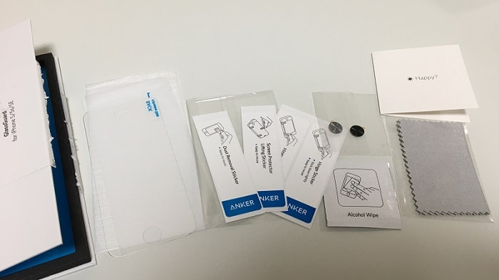iPhone SE用ガラスフィルム「Anker GlassGuard」をレビュー!