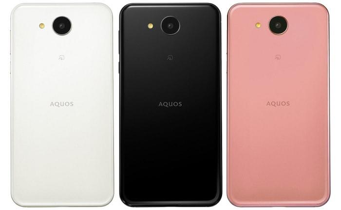 AQUOS eaのカラーバリエーションとスペック
