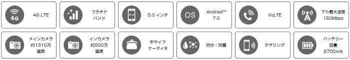 「AQUOS L2」の評価!スペックや価格・評判のレビューまとめ