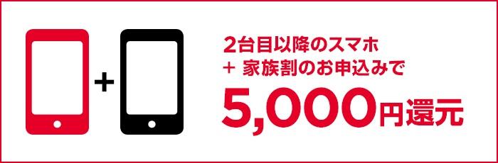 ワイモバイル「家族のスマホまとめてキャンペーン」を発表!