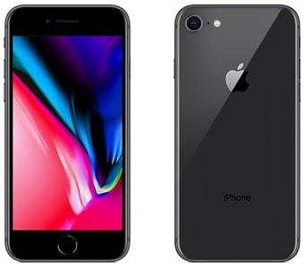 iPhone 8の本体カラースペースグレイ