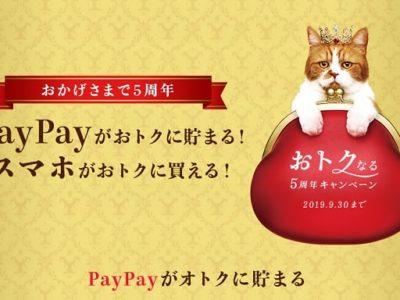 ワイモバイルとYahoo!でPayPayボーナスがもらえるキャンペーンを開催中!