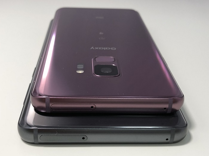 「Galaxy S9」と「Galaxy S9+」の違い