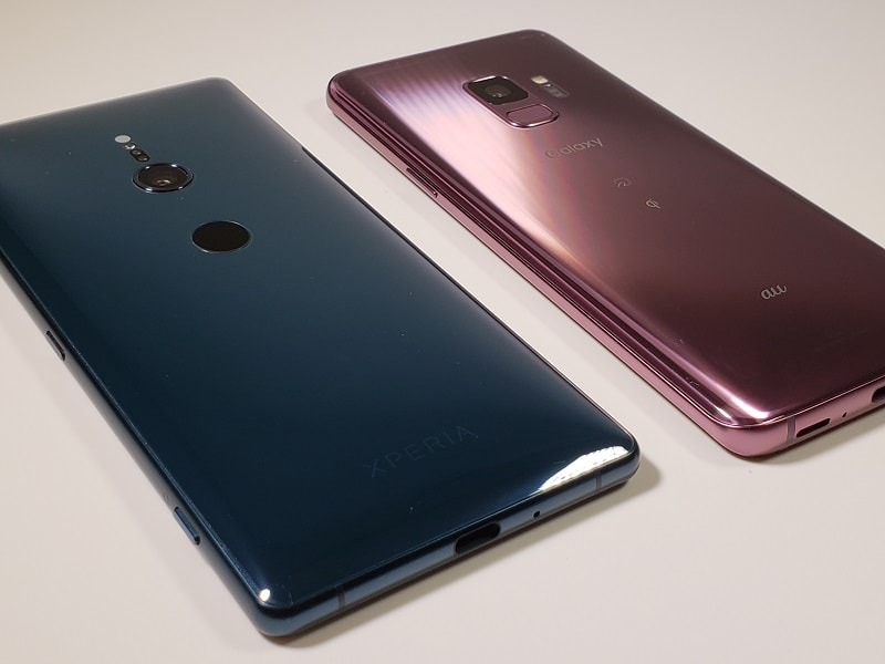 「Xperia XZ2」vs「Galaxy S9」どっちがおすすめ?両機種の違いを徹底比較!