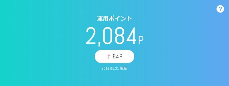 1月28日(月)dポイント投資の予想と後出し投資結果 2019年1月28日~2月1日
