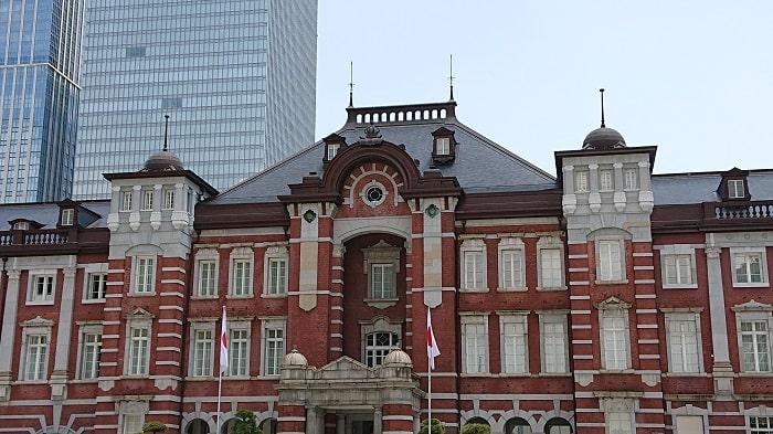 Xperia XZ2 SO-03Kで撮影した東京駅