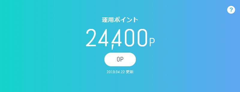 4月22日(月)dポイント投資の予想と後出し投資結果 2019年4月22日~4月26日
