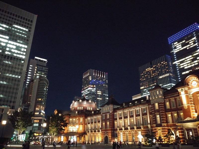 LG style L-03Kで撮影した夜の風景