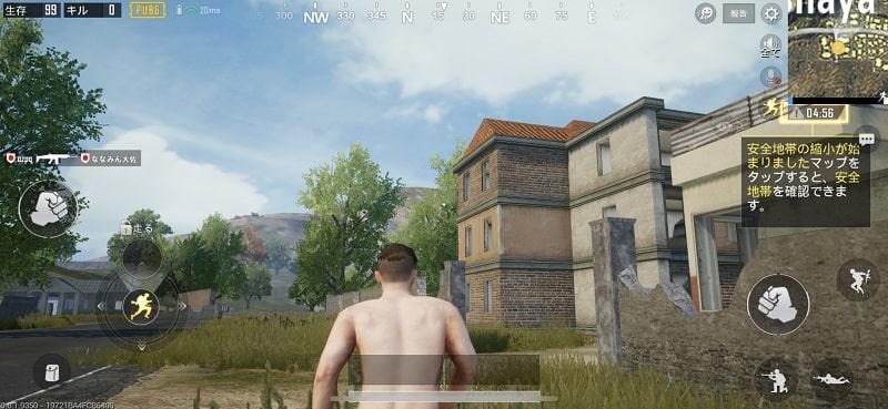 iPhone XSでゲームをプレイする様子