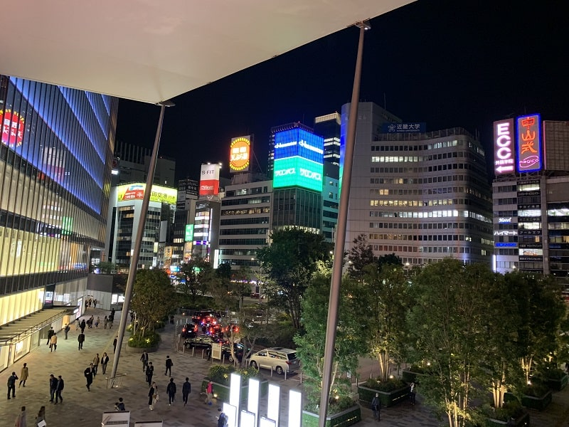 iPhone XRで撮影した夜景