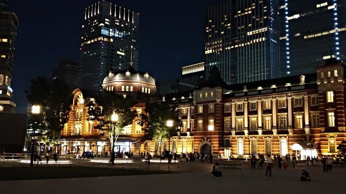arrows Be F-04Kで撮影した東京駅