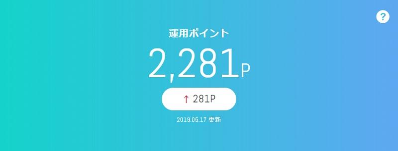 5月16日(木)dポイント投資の予想と後出し投資結果 2019年5月13日~5月17日