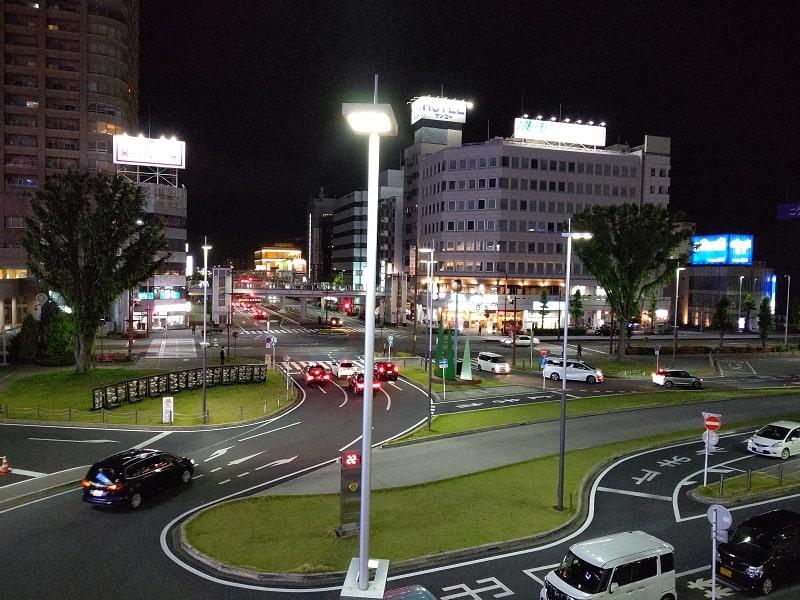 AQUOS R3で撮影した夜の写真