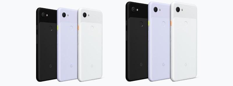 SIMフリー版 Google Pixel 3a の発売日と本体価格