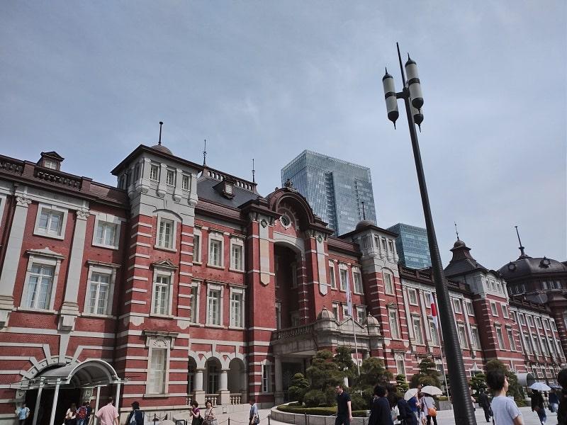 Xperia Aceで撮影した東京駅