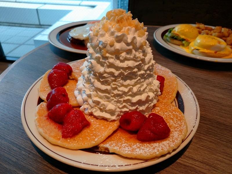 Xperia Ace SO-02で撮影したパンケーキ